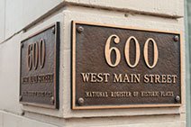 600 West Main block